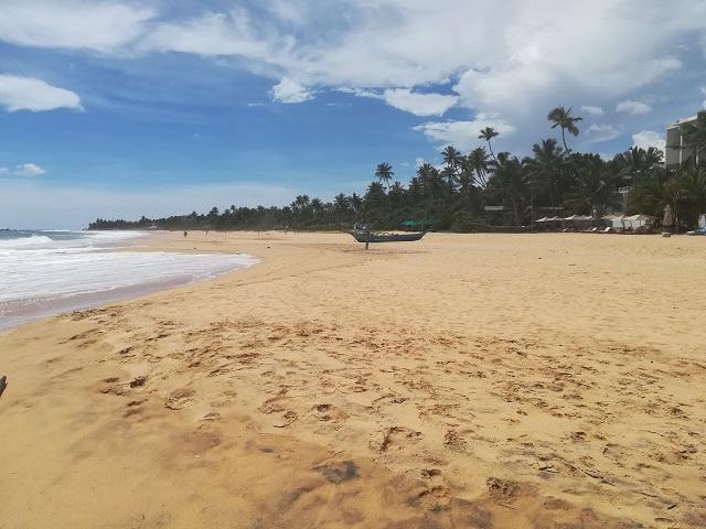 Hikkaduwa plaja goala